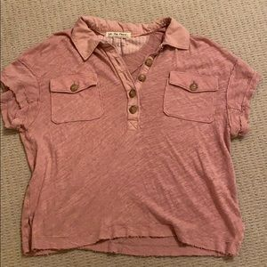 pink we the free top